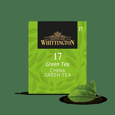 menu di foglie di tè verde e caffè in grani