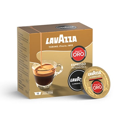 ricco capsule compostabili espresso a modo mio lavazza. Black Bedroom Furniture Sets. Home Design Ideas