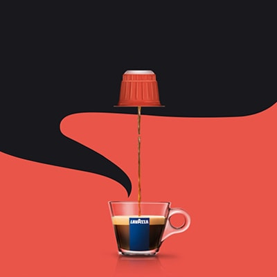 nespresso kompatible kapseln lavazza kaffee lavazza. Black Bedroom Furniture Sets. Home Design Ideas