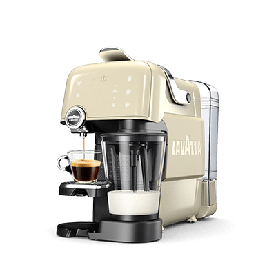 fantasia a machine for preparing milk and coffee lavazza. Black Bedroom Furniture Sets. Home Design Ideas